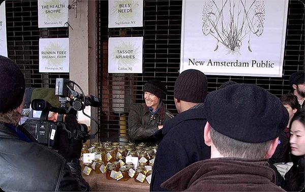 Bees' Needs at inaugural New Amsterdam Market